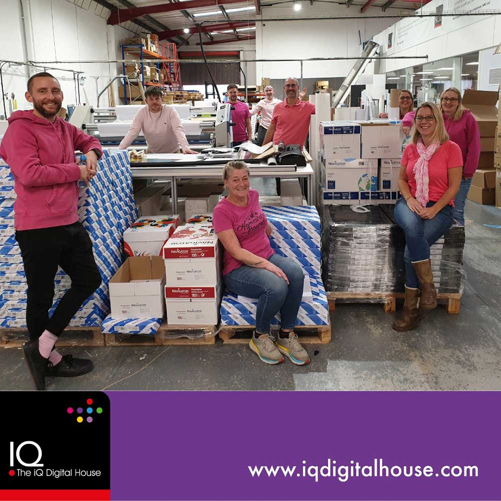 iQ Pink Friday for Charity